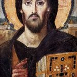 Jesus Pantocrator, 6th c.